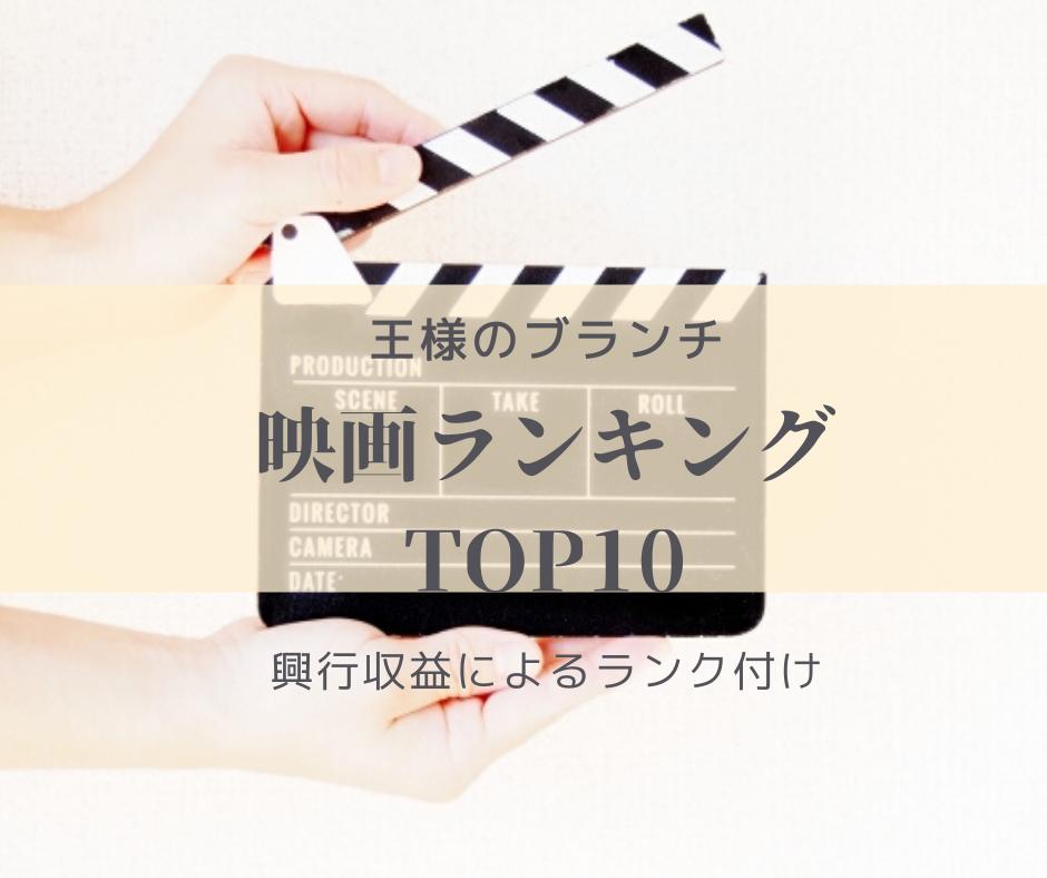 【再上映ジブリ作品圧倒的強さでトップ3独占】映画観客動員数ランキングTOP10  -2020年7月18日-